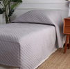 Dream Quilt Coverlet Grey