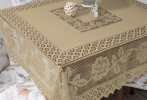 Lace Table Cloth Ocher